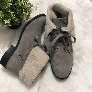 Sporto women's ankle boots size 9M color Gray
